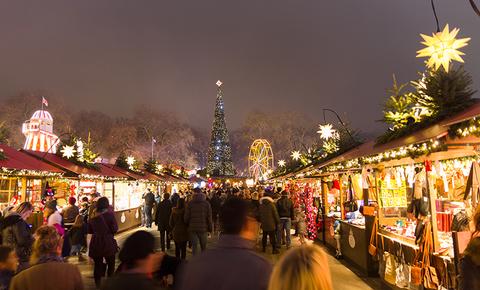 Hyde Park Winter Wonderland, London