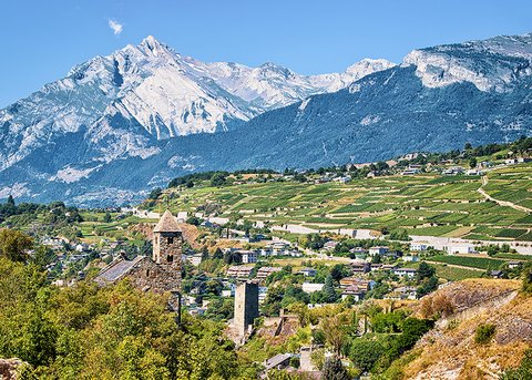 Sion Canton Velais Switzerland