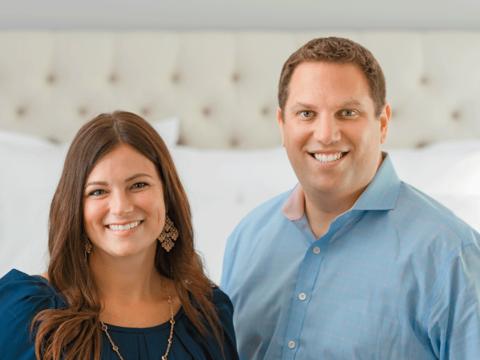 Boll & Branch's Missy and Scott Tannen