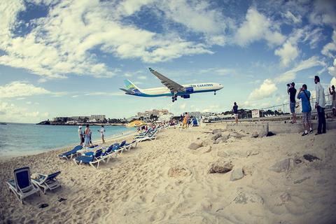 St. Maarten Plane Spotting