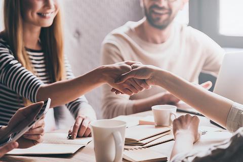Handshake g-stockstudio/ iStock / Getty Images Plus/ Getty Images