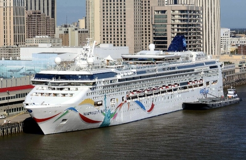 Norwegian Dawn Photo courtesy of Norwegian Cruise Line Editorial Use Only