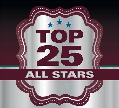 Top 25 All Stars Logo