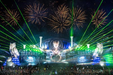 EDC Las Vegas 2017 Kinetic Field stage