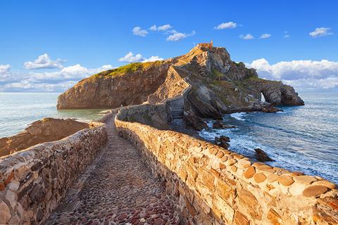San Juan de Gaztelugatze in Spain