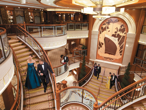 Cunard Grand Lobby