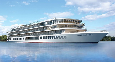 American Cruise Lines Names New Riverboat American Song Travel Agent Central