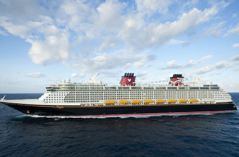 Disney Dream Cruise Ship at Sea