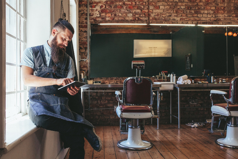Barbershop Stock Photo