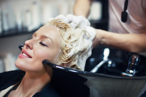 Hair treatment getty photo