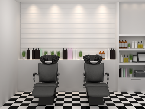 salon stock image