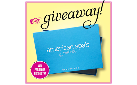 American Spa's Fresh Finds Beauty Box