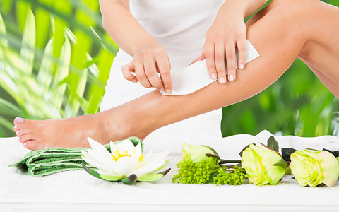 waxing all natural hair removal sugaring