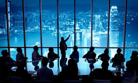 hong kong harbor view office