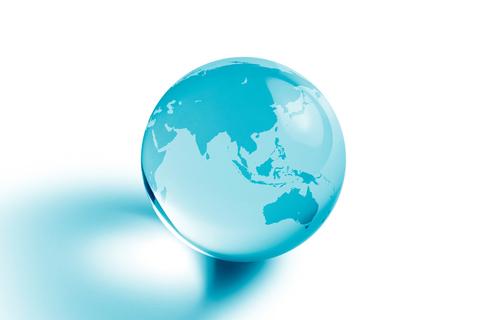 asia pacific globe