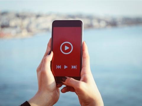 video start on phone
