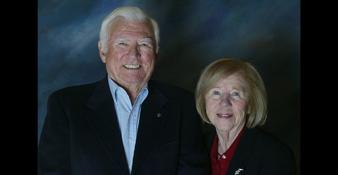 Cecil and Jean Spearman of The Spearman Clubs