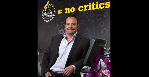 Planet Fitness CEO Chris Rondeau