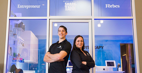 Glace Cryotherapy owners Skyler Scarlett and Brittaney Scarlett-Torres