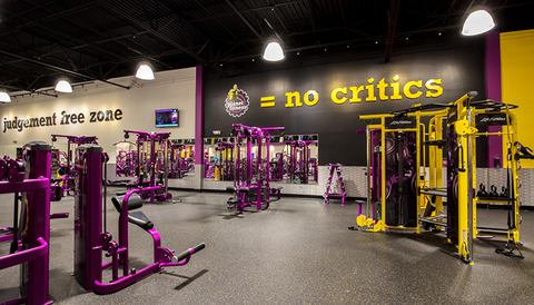 Planet Fitness opened 41 new clubs.