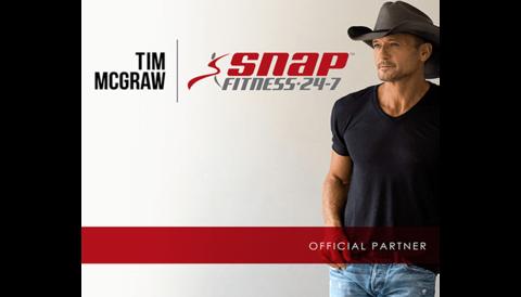 Tim McGraw's TRU MAV Snap Fitness studio