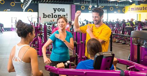 Planet Fitness club