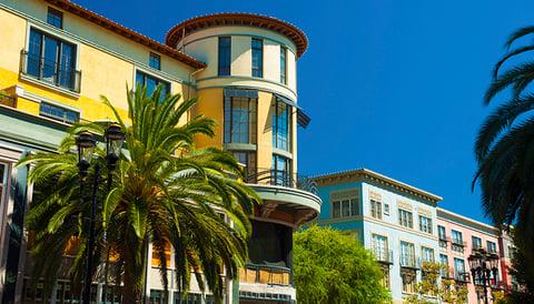 San Jose's Santana Row district