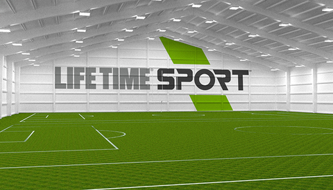 Life Time Sport is located inside the Minnesota Vikings former training facility southwest of downtown Minneapolis.