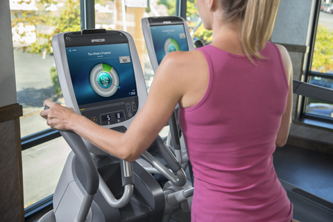 Precorrsquos Preva is the technology that Magnuson Athletic Club used in its member acquisition and retention efforts Photo courtesy of Precor