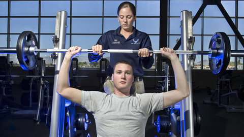 Although military fitness facilities have made small changes to facility operations most have not been significantly affected by recent budgets cuts Photo courtesy of the US Air Force