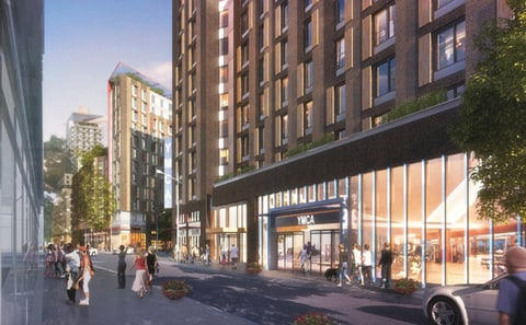 The YMCA of Greater New York will open its second branch in the Bronx NY as part of a development plan designed to revitalize the borough Image courtesy of the YMCA of Greater New York