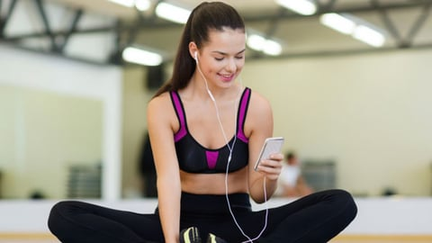 Health club operators report that members who engage with a club39s mobile app are more likely to attend group fitness classes share information about the club on social media and become involved in club events and challenges Photo by Thinkstock