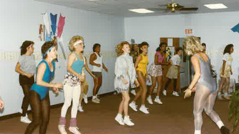 Those who do not learn from history may be doomed to repeat fitness fashion mistakes from 30 years ago The participants in this aerobics class at Nautilus Health Center in Huntsville TX from the 1980s were stylish then but would be looked at much differently today as would other pieces of the health club business from 30 years ago Photo courtesy of Matthew Wagner