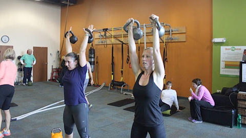 Boutique clubs such as Ruff Fitness in Hagerstown MD are causing bigbox clubs to make some changes Photo courtesy of Ruff Fitness