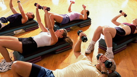 Although it ranked 10th in the ACSM trend survey club operators should not underestimate the value of a small group training program Photo by Thinkstock