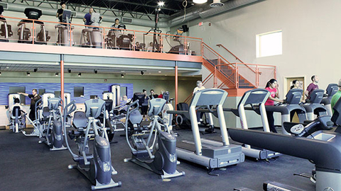 The York Jewish Community Center added three large fitness spaces as part of an 8 million expansion Photo courtesy York Jewish Community Center
