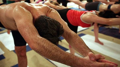 A sixth woman has filed a lawsuit against Bikram Choudhury alleging sexual harassment and sexual assault among other claims This photo from March 2007 is of a Bikram Yoga class in London Photo by Matt CardyGetty Images