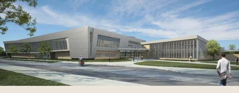 The new 56 million Student Life Center at the State University of New York at Cortland greatly expands fitness and recreation opportunities on campus Photo courtesy of SUNY Cortland