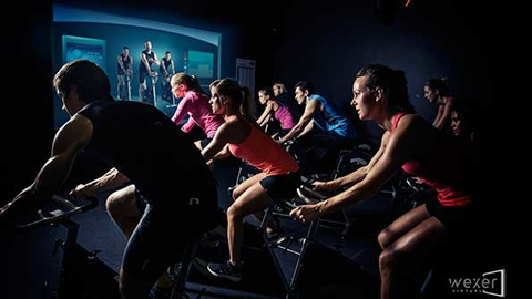 One recent study showed that virtual fitness classes actually feed members into live classes Photo courtesy of Wexer Virtual