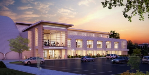 The Hamel Recreation Center at the University of New Hampshire will get a 65000squarefoot addition Photo courtesy of Hughes Group Architects