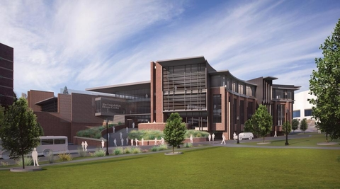 Construction of the EL Wiegand Fitness Center will begin on the University of Nevada Reno campus later this year Rendering from University of Nevada Reno