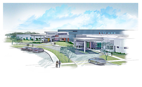 An artist39s rendering of the Center for Integrated Wellness in Bloomington Illinois Photo courtesy Signet Enterprises
