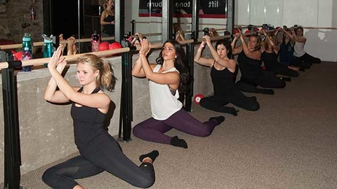 Pure Barre received a financial lift when Catterton became majority stakeholder in the company this month Pure Barre added 100 studios in 2014 increasing its number of studios to about 200 During this year39s Sundance Film Festival in Park City Utah Pure Barre hosted a popup studio pictured here Photo by Lily LawrenceGetty Images for Pure Barre