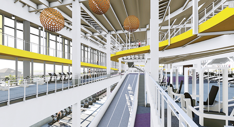 Louisiana State University39s renovated student recreation complex is expected to be completed in late 2016 Rendering courtesy Louisiana State University