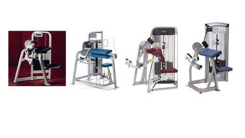 The recalled Cybex International Arm Curl Machine models from left to right VR2 VR2TA Eagle and VR3 Photo courtesy US Consumer Product Safety Commission