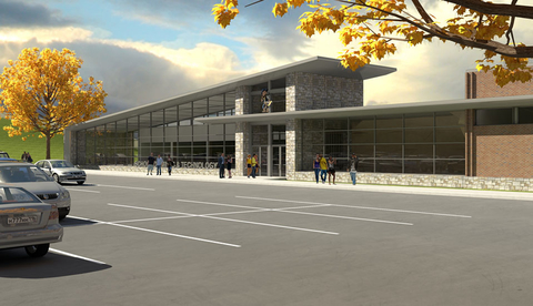 The Stephen D Newlin Family Student Wellness amp Recreation Center provides additional fitness and recreation opportunities at the South Dakota School of Mines and Technology Rendering by RDG