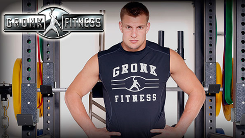 Rob Gronkowski and his family began developing the Gronk Fitness Products line after New England defeated Seattle in Super Bowl XLIX in February Photo courtesy Gronk Fitness Products