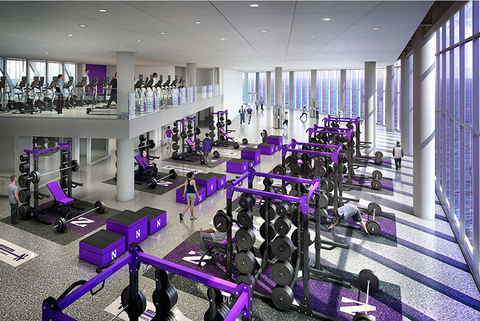 A rendering of strength and conditioning space planned for Northwestern University39s Lakefront Athletics and Recreation Complex Image from Northwestern University
