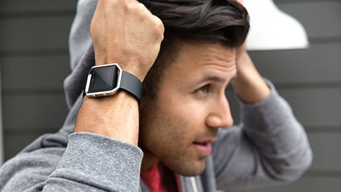 Preorders for the new Blaze pictured here and Alta models quotexceeded internal forecastsquot Fitbit noted in its earnings release Photo courtesy Fitbit
