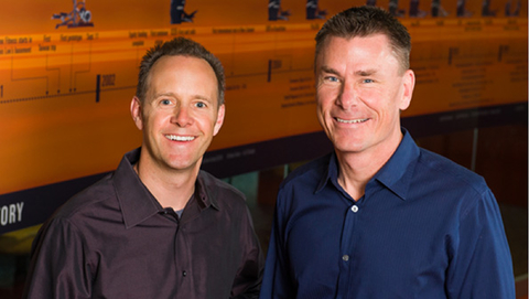 Tim Porth left and Dennis Lee right cofounded Octane Fitness in 2001 The two remain with the company Porth is now vice president product development commercial and specialty Lee39s new title is vice president general manager commercial and specialty Photo courtesy Octane Fitness